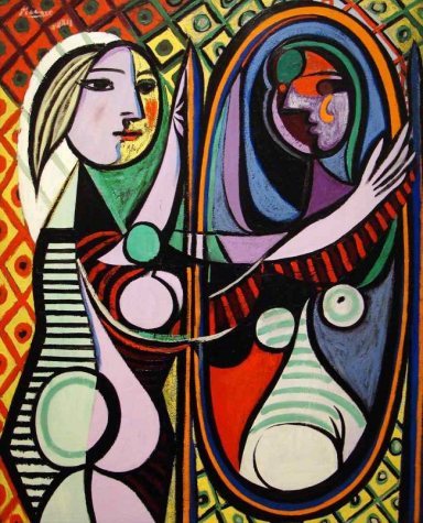Picasso, 1932, Girl Before a Mirror